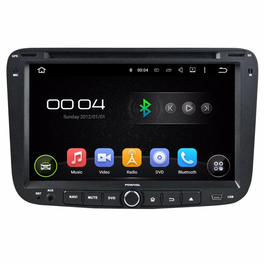 1024 600 Quad Core Android 5 1 HD 2 din 7 Car DVD GPS for Geely