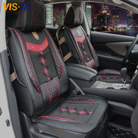 Hot High Quality Leather Car Seat Covers Fit 95% 4 5 Seats Cars Car Seat Protector Universal Cars Styling Interior Decoration