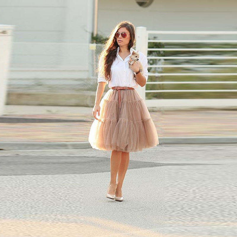 Popular Puffy Tulle Skirt-Buy Cheap Puffy Tulle Skirt lots from ...