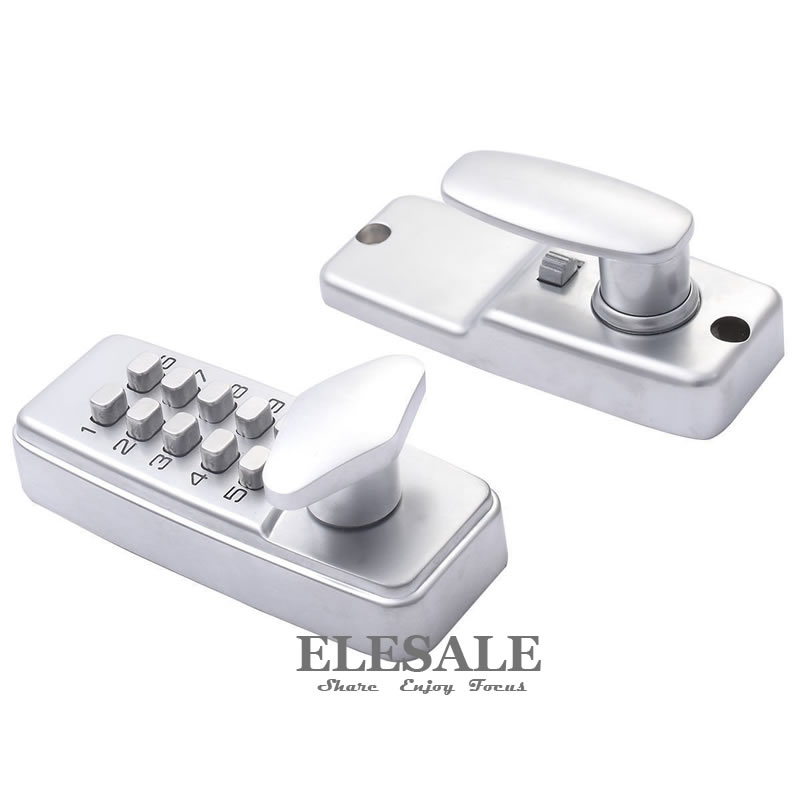 New Keyless Door Lock With Combination Code Password Zinc Alloy Mechanical Digital Code Unlock Home Safe image