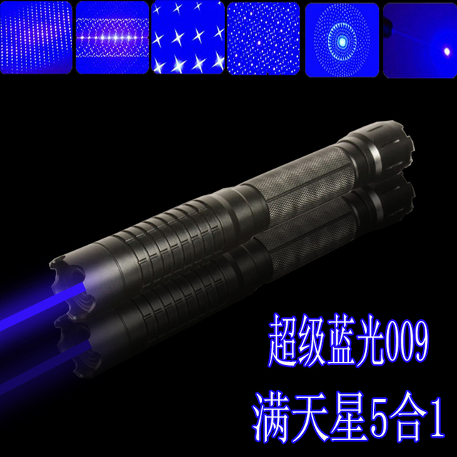 high powered 100000mW/100W 450 nm Blue laser pointers burn match/dry wood/black/burn cigarettes+5 caps+glasses+changer+box