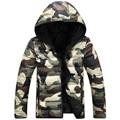2016 New Winter Camouflage Hooded Coat Jacket Thicker Fashion Lovers Hooded Camouflage Jacket Thick Coat Jacket Large size M-5XL