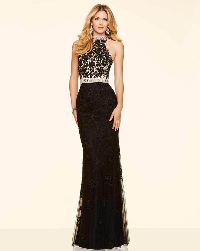 Vestidos De Gala 2016 Del Cordón De Modest Largo Atractivo