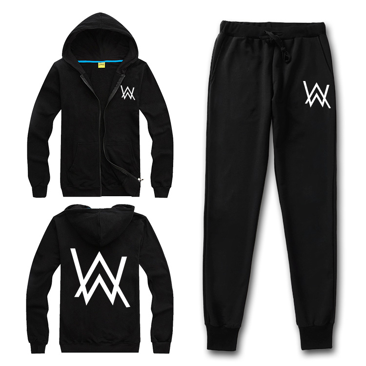 Mask as Gift Alan walker hoodies sweatshirt men women hip hop Rapper Bboy dancer DJ zipper&pullover jacket men women tracksuits