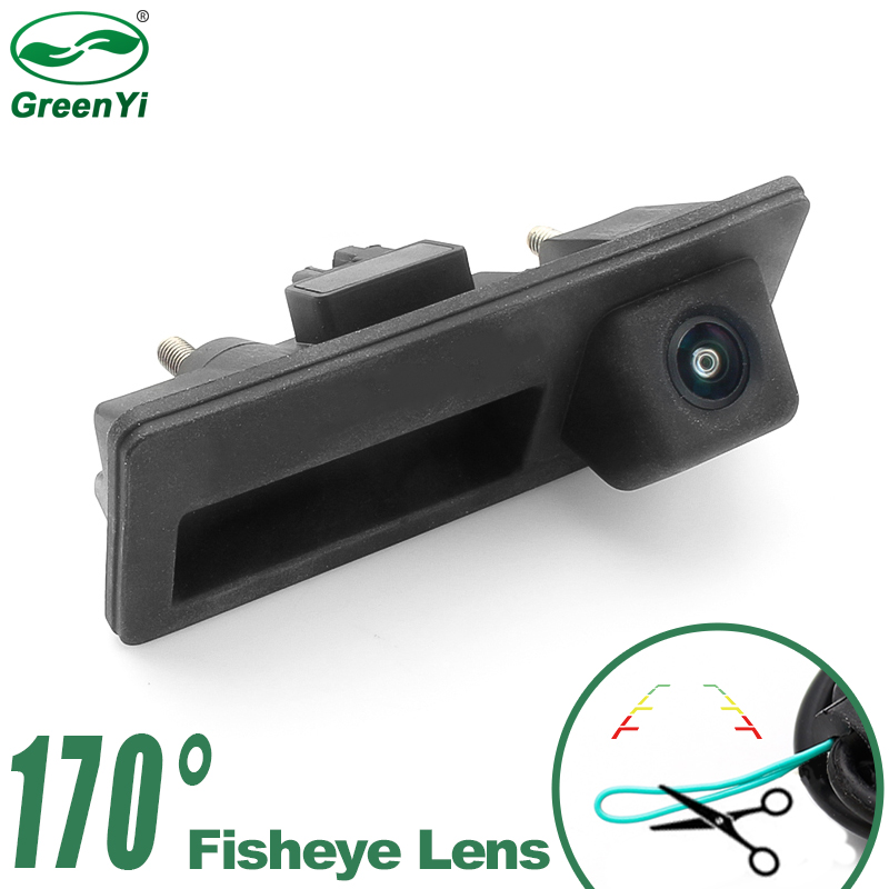 Parking Line Control 720P 170 Degree Fisheye Lens Car Rear View Reverse Backup Camera For VW Passat Golf Poal Jetta Audi A4 A6(China)