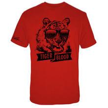 Charlie Sheen-Sangue de Tigre-Oficial Camisa Dos Homens T 2018 Nova Chegada T-Shirt À Venda Nova Moda Verão