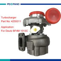 S200 turbocharger turbo charger kit compressor turbolader for VOLVO DEUTZ 1013 engine industriemotor 319278 319212