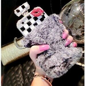 Image 5 - Bộ Lông Lọ Nước Hoa Ốp Lưng Điện Thoại iPhone 11 Pro 6 6S 7 8 Plus XS Max XR Samsung Galaxy s10 S20 Cực S8 S9 Note 10