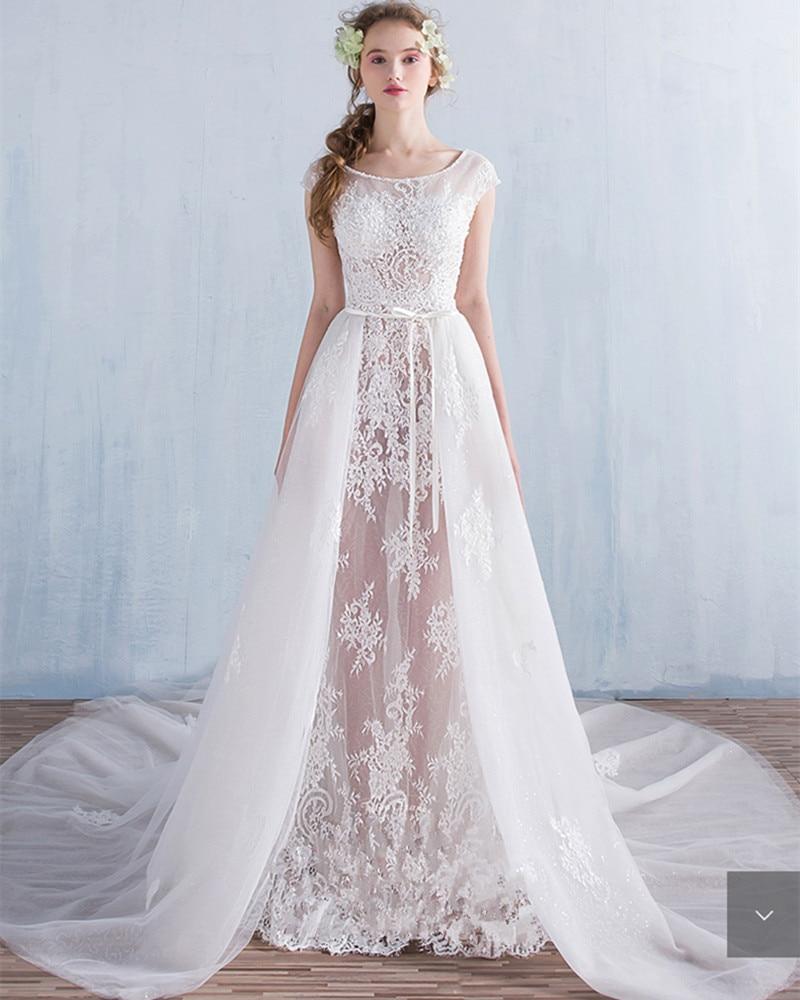 Popular Transparent Wedding Dress-Buy Cheap Transparent Wedding ...