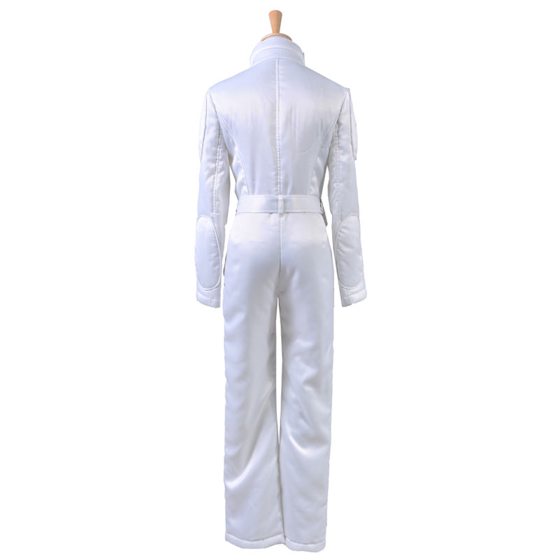 669f3353e681 Star Wars A New Hope Princess Leia Organa Cosplay Costume Woman White  Jumpsuit Halloween Outift -in Movie   TV costumes from Novelty   Special  Use on ...