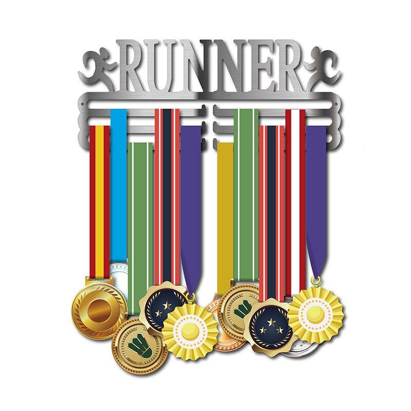 Medal hangers for running Sport medal display hanger Running medal holder hold 30~45 medals.Medal hangers for running Sport medal display hanger Running medal holder hold 30~45 medals.