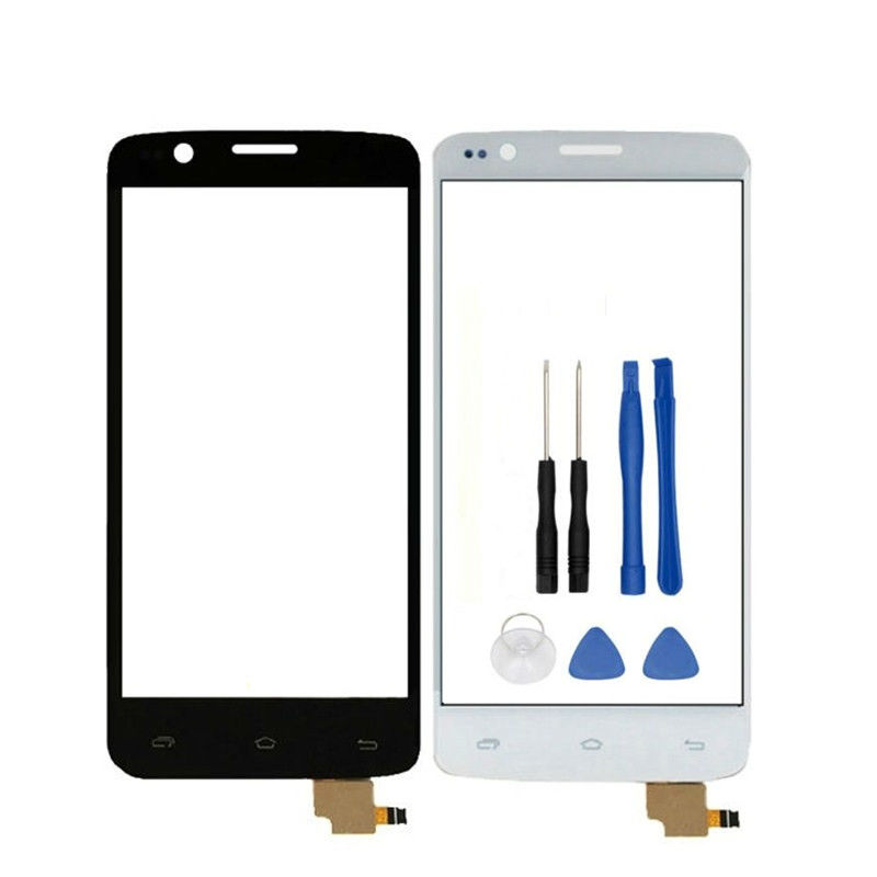 Vannego 4.5 Touchscreen For FLY IQ4409 Quad ERA Life 4 IQ 4409 Sensor Touch Screen Front Glass Panel Mobile Phone Free shiping