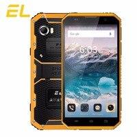 EL W9 IP68 Điện Thoại Di Động Android 6.0 Inch FHD MTK6753 Octa Lõi 2 GB + 16 GB Điện Thoại Cảm Ứng Kép Sim Unlocked Không Thấm Nước Điện Thoại Thông Minh 4 Gam