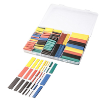 New 700Pcs 8 Size Assortment Heat Shrink Tube Tubing 2:1 Wire Wrap Sleeve Cable Shrink Tube Kit