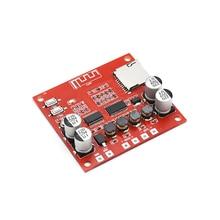 15 W * 2 Amplificador Do Bluetooth Placa De Áudio Decodificador 4.2 Lossless Receptor Bluetooth Estéreo TF cartão de entrada