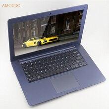 Amoudo-6c 8 ГБ ram + 240 ГБ ssd + 750 ГБ hdd 14 дюймов 1920×1080 fhd windows 7/10 двойные диски quad core ультратонкий ноутбук ноутбук