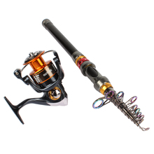 Goture Fishing Reel & Rod Combo 2.7M 3.0M 3.6M Sea Rod Fishing Pole with GT4000 Spinning Reel 5.2:1 11BB