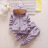 2017 Baby Girl Clothing Set Autumn Thicken Kids Girl Suits Children S Winter Warm Clothes Kids