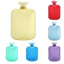 2000ml High Density PVC Transparent Hand Warm Water Bottle Portable Hand Warmer Pocket