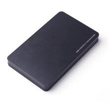 """Hard Drive Enclosure Portatile In Alluminio HDD Box, SATA a USB 3.0 Adattatore per 2.5 """"SSD HDD Esterno Caso del Disco Rigido"""
