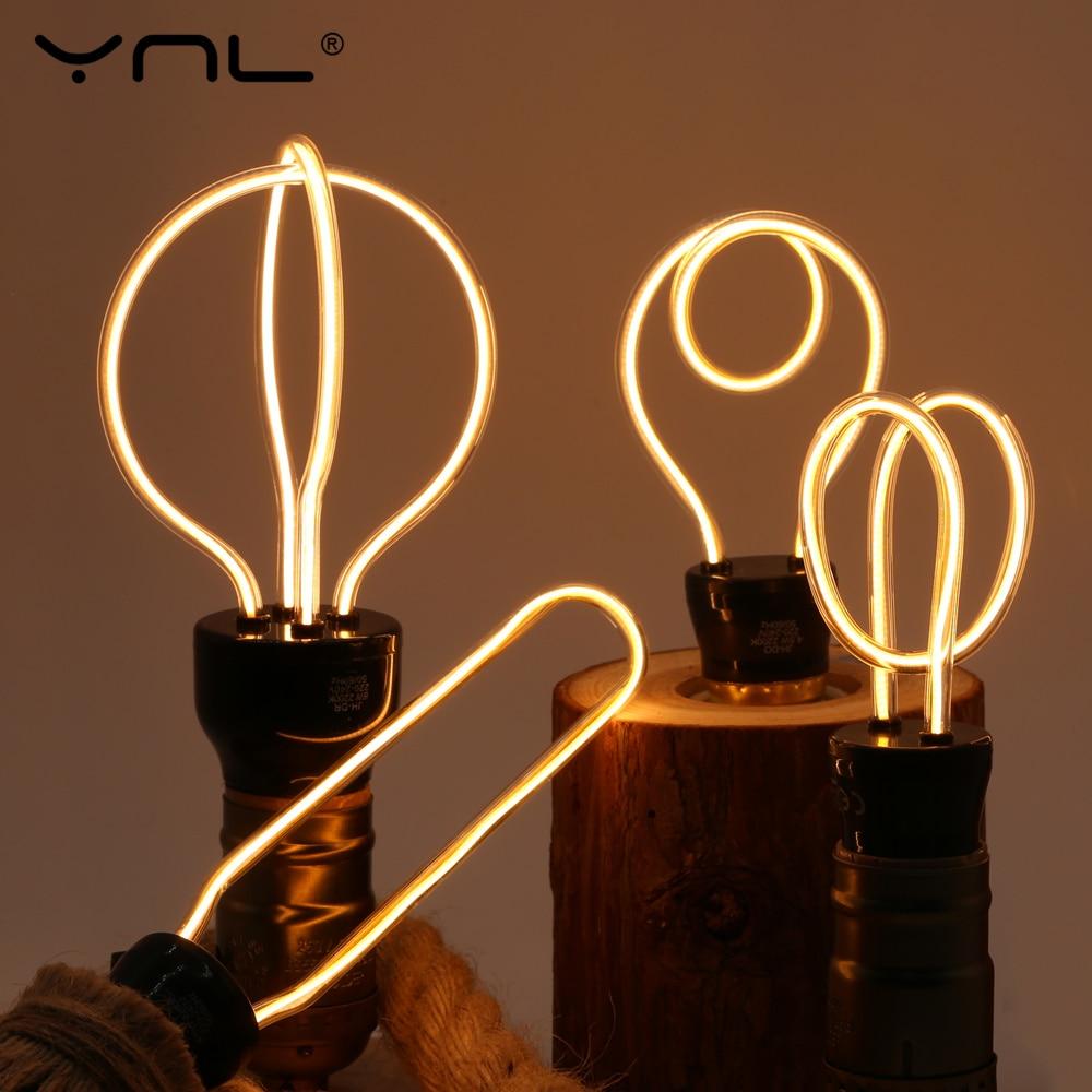 Novelty Lighting E27 220V LED Lamp Bombillas LED Light Bulb 4.5W 8W Warm White Top Quality Ampoules Lampada LED Interesting Lamp