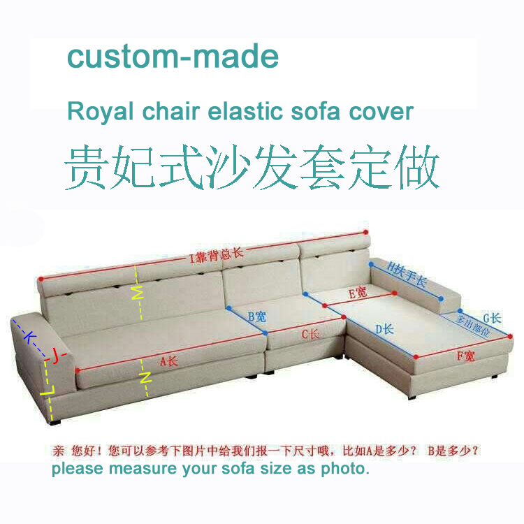 Custom Made Style L Sofa Cover Genuine Leather Elastic Measurement In From Home Garden On Aliexpress Alibaba Group