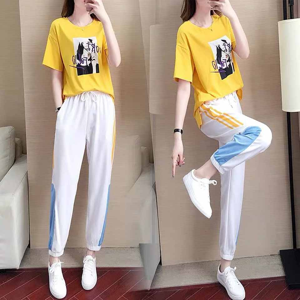 2019 New Girls Summer Clothing Set Elegant Kids Clothes White Suit For Girl 12-20 Years Children's Costumes Casual Shirt+Pants 25
