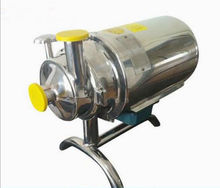 110 В 0.75KW нержавеющей 304 Еда Класс центробежный насос санитарно напитков 3/ч