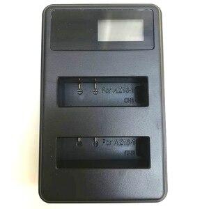 Image 2 - Original Für Xiaomi YI 4K Batterie AZ16 1 USB LCD Dual Ladegerät Action Kamera 2 4k + Lite Zubehör 1400mAh Akku