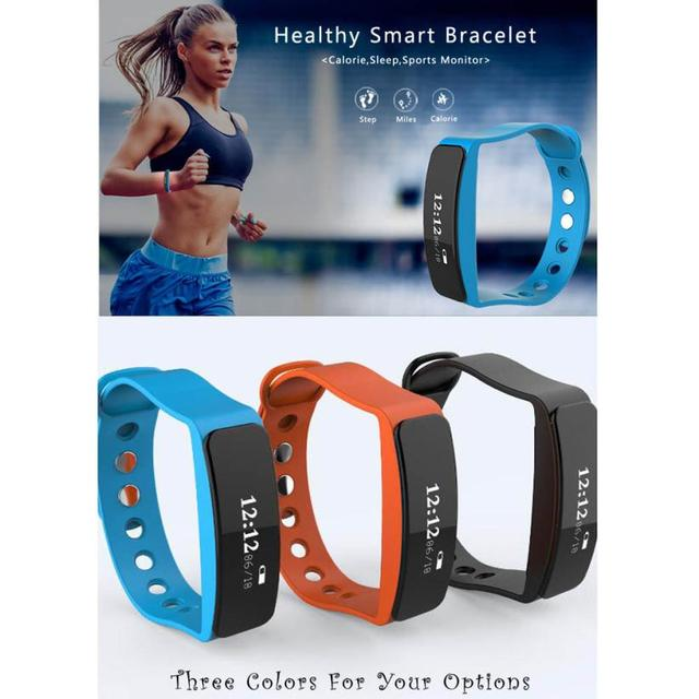 TPU material Strap V4.0 Bluetooth Heart Rate Monitor Bluetooth Wrist Smart Watch Bracelet W23 For Android