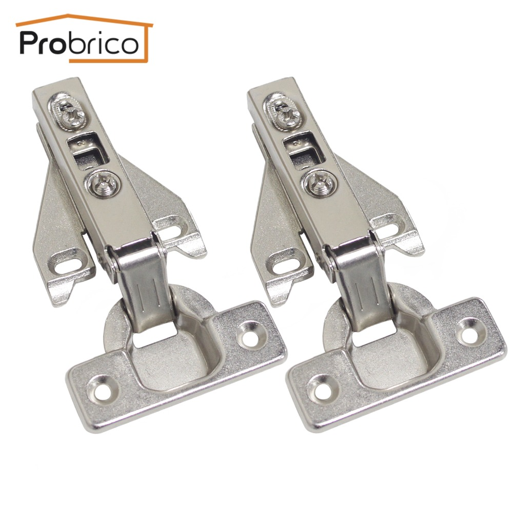 probrico face frame kitchen cabinet hinges iron chhs09ga furniture full overlay concealed cupboard door hinge - Soft Close Cabinet Hinges