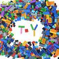 Regalo bloques de construcción de juguete 500 unids kids educational diy kits modelo niños juguetes de ladrillo de estilo creativo libre susengo
