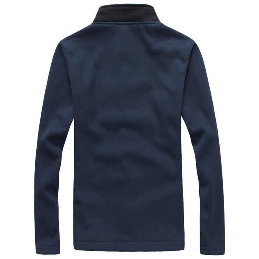 Männer Jacke Plus Größe M-5XL 2017 Marke Neue Mode Stehen Kragen Männer Jacken Herbst Und Winter Lässig männer Fleece mantel