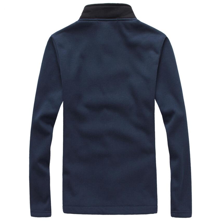 Rivestimento degli uomini Più Il Formato M-5XL 2017 Brand New Fashion Stand Collar Giacche Da Uomo Autunno E in Inverno Casuale del Panno Morbido degli uomini cappotto