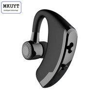 Wireless Business Bluetooth Headset With Mic Voice Control Handsfree Wireless Bluetooth Earphone Headphone Sports Music Earbud