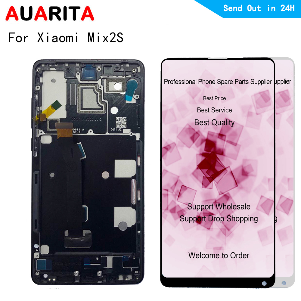 5.99 For Xiaomi Mix 2S Mix2S LCD Display+Touch Screen Digitizer with frame Assembly Replacement Accessories for xiaomi MI mix2s5.99 For Xiaomi Mix 2S Mix2S LCD Display+Touch Screen Digitizer with frame Assembly Replacement Accessories for xiaomi MI mix2s