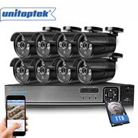 8CH CCTV System 720P HDMI AHD CCTV DVR 8Pcs 1 0MP HD IR 20M Night Vision