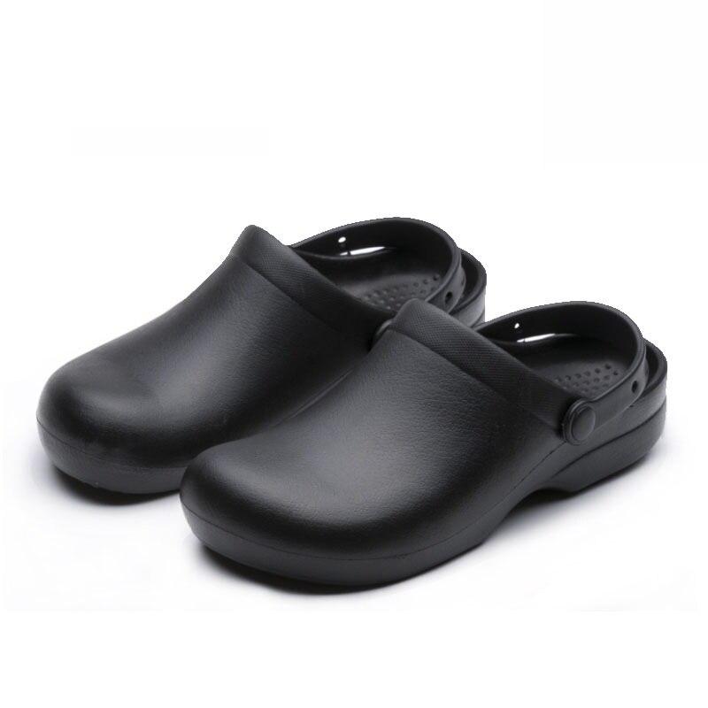 Sandalias para hombre vestido compra lotes baratos de - Zapatos de cocina antideslizantes ...