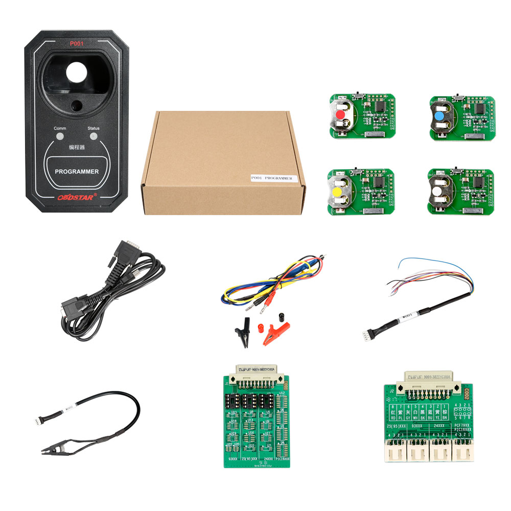 Obdstar P001 Programmer Rfid Renew Key Eeprom Functions 3 In 1 Eprom Burner Card Circuit Diagram Work With X300 Dp Master Place Of Adapter On Alibaba