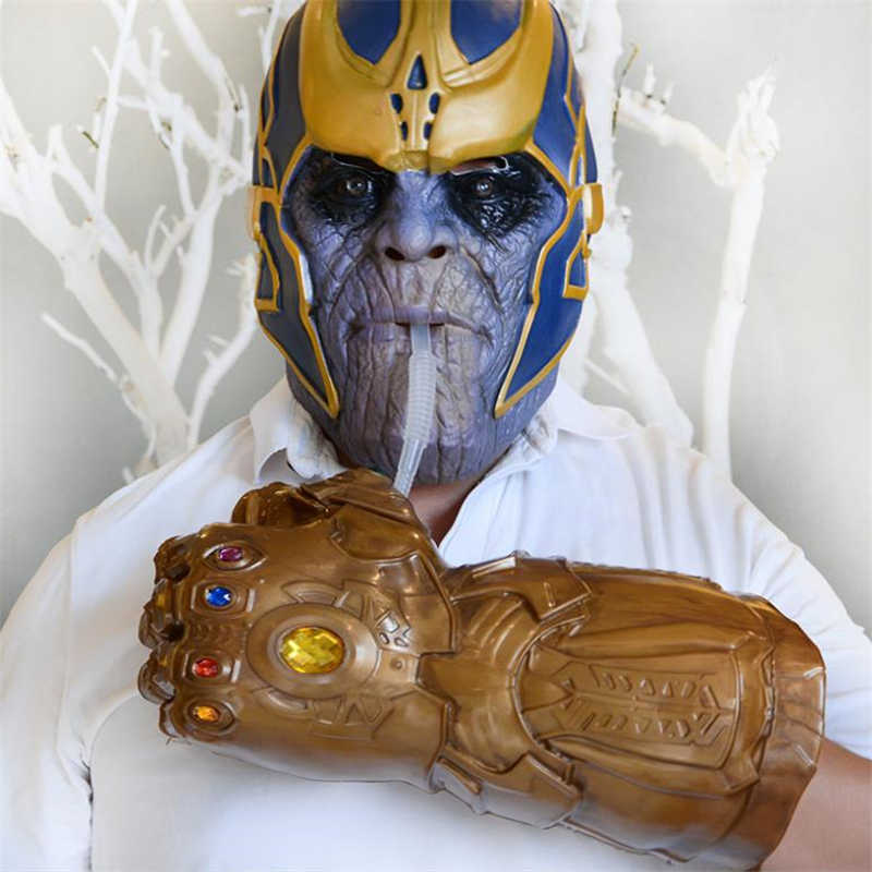 New Avengers Endgame Thanos Infinity Gauntlet Cosplay Arm Hulk Avengers Glove Water Cup Drink Cup Kids Adult Toy Halloween Props