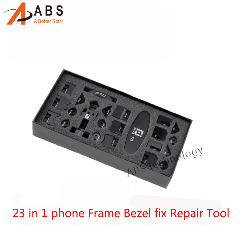 Free shipping 23 in 1 JF866 mobile phone Frame Bezel fix Repair Tool Bend Edge Corner and Sidewall set  kit for iPhone iPad iPod free shipping car refitting dvd frame dvd panel dash kit fascia radio frame audio frame for 2012 kia k3 2din chinese ca1016