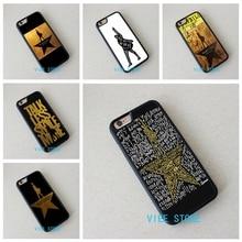 Hamilton Musical Lyrics Black fashion case cover for iphone 4 4S 5C 5 5S SE 6 6S 6 plus 6s plus 7 7 Plus #EF376