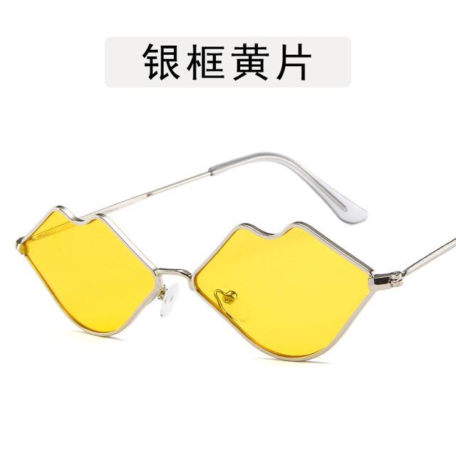 Vintage Red Kiss Sunglasses Women 2019 Eye Sun Glasses for Women Sunglasses Lip Retro Female Eyeglasses Luxury Original Design