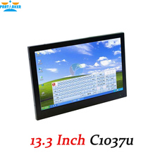 13.3 inch 1280*800 Embedded All-in-One Computer Industrial Touch Screen Tablet PC 2G RAM 24G SSD Monitoring Production PC(China (Mainland))