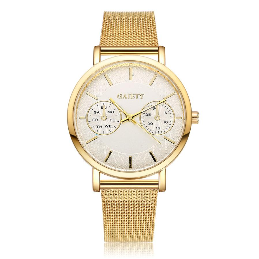 Women Brand Gold Women Fashion Luxury Watch Quartz Stainless Steel Diamond Ladies WristWatches Dress Women Watches Clocks 4