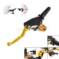 Forged Dirt Bikes Folding Clutch Lever Assembly Perch W Hot Start Lever For Suzuki RM 65
