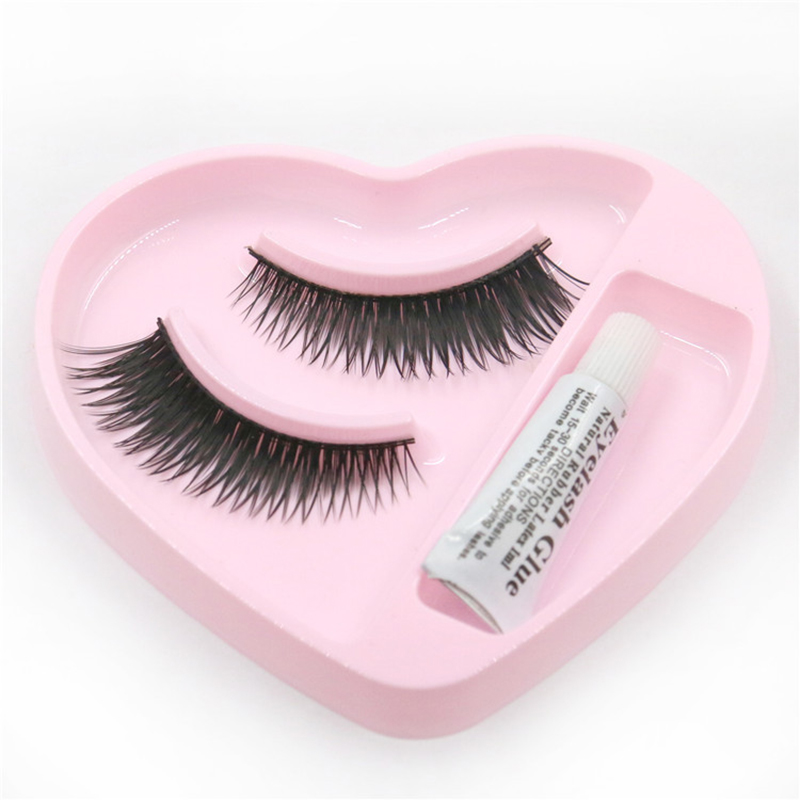 Beauty Essentials Learnever Heart Shape False Eyelashes Eyelash Glue Eye Make Up Set Handmade Long Makeup Eye Lashes Extension Tools M03737 Diversified Latest Designs