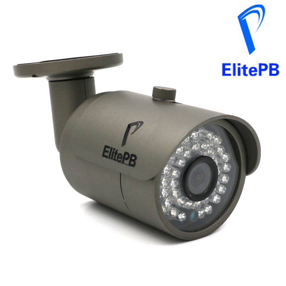 ElitePB Full HD 4mp IP Camera 1080p Network outdoor IR Waterproof security camera Onvif support POE with 36Pcs array leds фоторамка бело голубая фантазия на 3 фото цвет белый голубой 856503