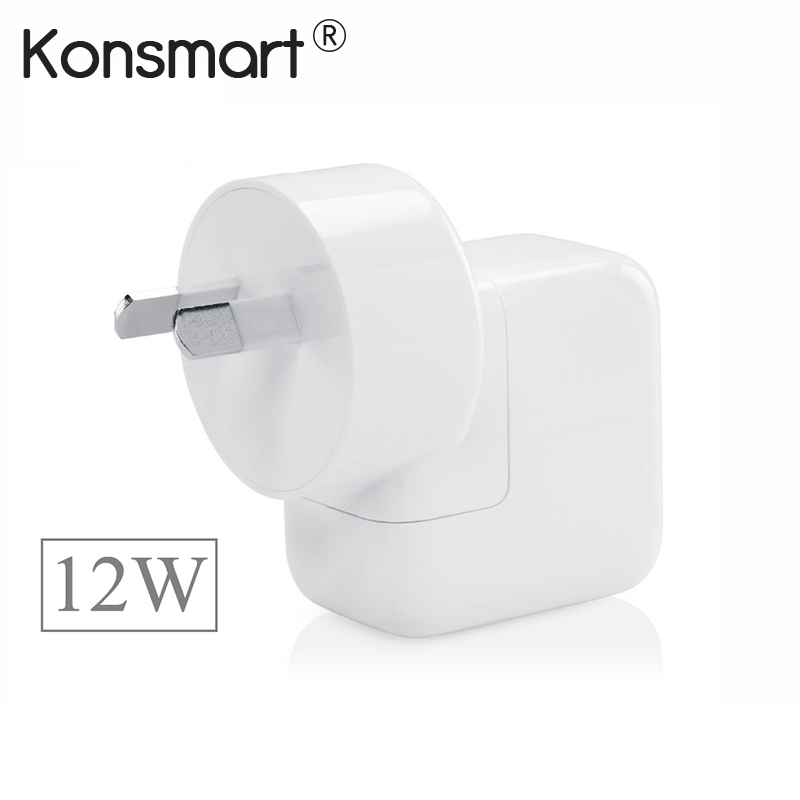 2.4A Fast Charging 12W USB Power Adapter Travel Charger for iPhone 5s 6 7 Plus iPad Mini Air Samsung Phone Tablet for Australia