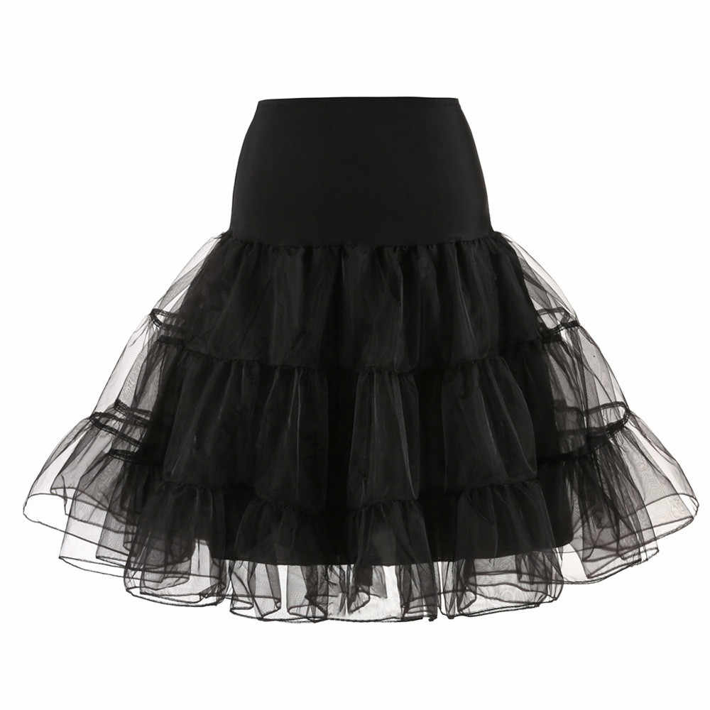 6 Colors Womens Tulle Skirt Fashion Tutu Skirts Women Ball Gown Party Petticoat 2019 Falda corta  *
